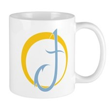 Twitchy Dolphin Logo:  no words Mugs