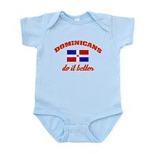 Dominicans do it better Infant Bodysuit