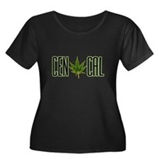 CEN CAL -- T-SHIRTS Women's Plus Size Scoop Neck D