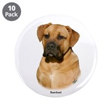"Boerboel 9Y121D-294 3.5"" Button (10 pack)"
