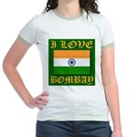 I Love Bombay Jr. Ringer T-Shirt