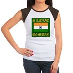 I Love Bombay Women's Cap Sleeve T-Shirt