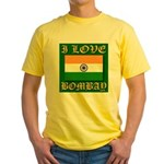 I Love Bombay Yellow T-Shirt