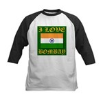 I Love Bombay Kids Baseball Jersey