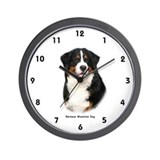 Bernese Mountain Dog 9Y348D-115 Wall Clock