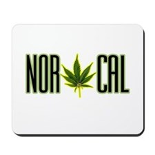 NOR CAL -- T-SHIRTS Mousepad