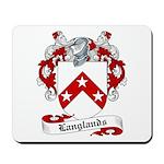 Langlands Family Crest Mousepad