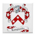 Langlands Family Crest Tile Coaster