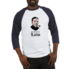 Better In Latin - Color Baseball Jersey