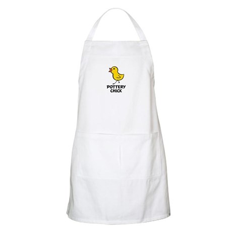 Pottery Chick BBQ Apron