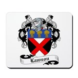 Lawson Family Crest Mousepad