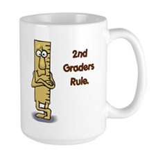 2nd Graders Rule Mug
