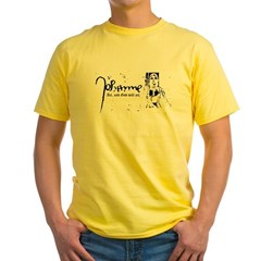 Joan of Arc (...God will act. Yellow T-Shirt