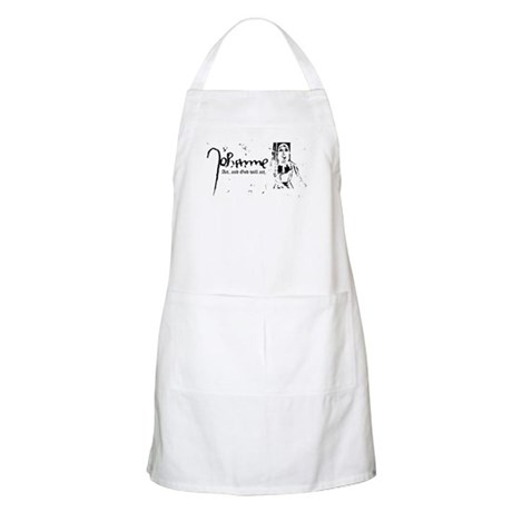 Joan of Arc (...God will act. BBQ Apron