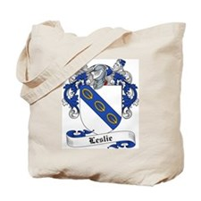 Leslie Family Crest Tote Bag