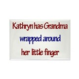 Kathryn Has Grandma Rectangle Magnet