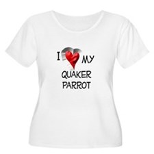 I Love My Quaker Parrot T-Shirt