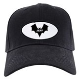 BLACK BAT JEFF Baseball Hat