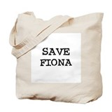Save Fiona Tote Bag