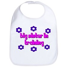 Big Sister in Training Bib