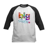 big sister t-shirt flower Tee