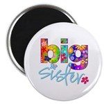big sister t-shirt flower Magnet