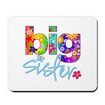 big sister t-shirt flower Mousepad