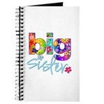 big sister t-shirt flower Journal