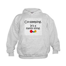 Co-sleeping family Hoodie