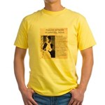 Lilly Langtry Yellow T-Shirt