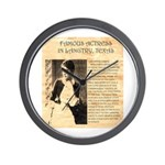 Lilly Langtry Wall Clock