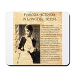 Lilly Langtry Mousepad