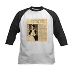 Lilly Langtry Kids Baseball Jersey