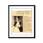 Lilly Langtry Framed Panel Print