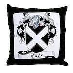 Little Family Crest Throw Pillow