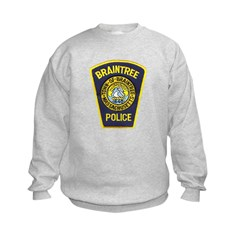 Braintree Police Kids Sweatshirt