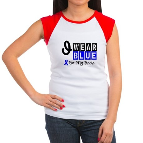 Blue Ribbon Uncle Women's Cap Sleeve T-Shirt