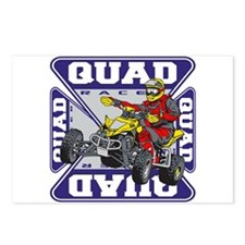 Quad Racer Postcards (Package of 8)