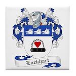Lockhart Family Crest Tile Coaster