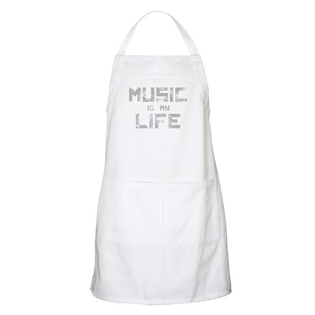 Music Is My Life BBQ Apron