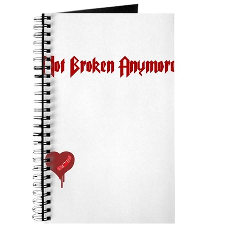 Not Broken Anymore Journal