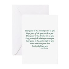 Deep Peace Greeting Cards (Pk of 10)