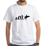 Surfer Evolution White T-Shirt