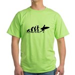 Surfer Evolution Green T-Shirt