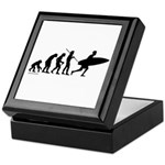 Surfer Evolution Keepsake Box