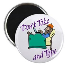 Don't Toke & Type - Magnet