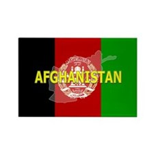 Afghanistan Flag Extra Rectangle Magnet
