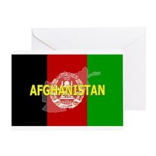 Afghanistan Flag Extra Greeting Card