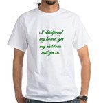 PARENTING HUMOR White T-Shirt