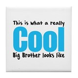 Cool Big Brother Tile Coaster